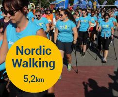 NÖ Fraunenlauf Strecken Nordic walken