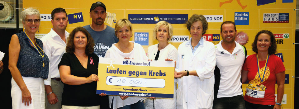 Laufen gegen Krebs NÖ Frauenlauf
